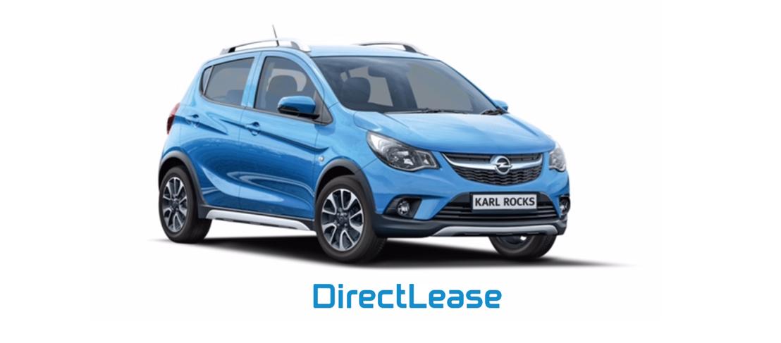 PERSBERICHT: DirectLease en GAMMA bieden particulieren uitzonderlijk lease-aanbod aan: een Opel Karl Rocks voor 178 € per maand