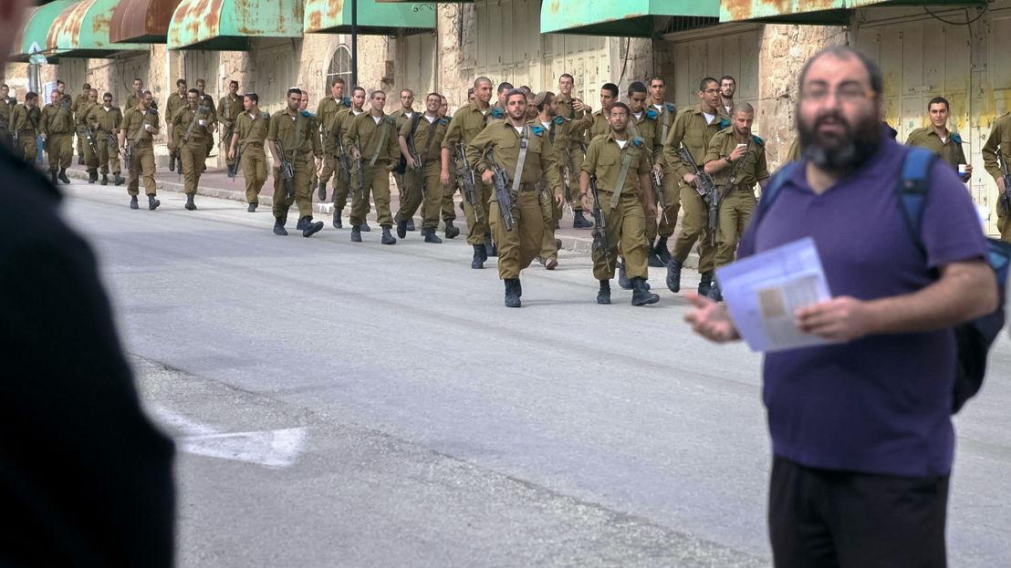 Kleine helden - Israel en Gaza:  Yehuda Shaul - (c) Joris Vermost