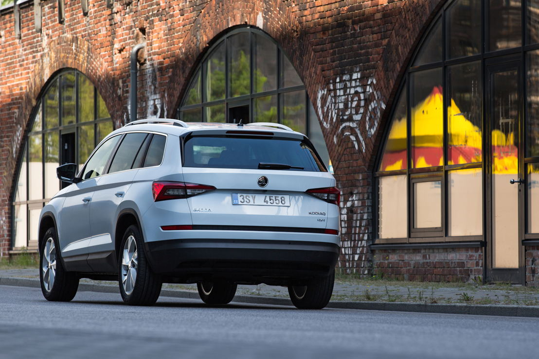 With the ŠKODA KODIAQ, the Czech car manufacturer is extending its range to seven models and more than 40 variants.