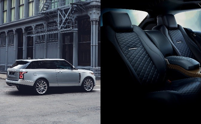 2018 - Range Rover SV Coupé (Semi-aniline Navy Blue Leather)