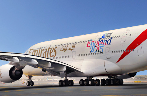 Emirates brings fans closer to Rugby World Cup 2015