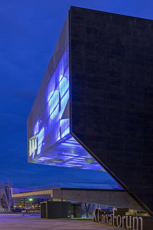 Caixa Forum - Winner in the design category. Photo courtesy of: Ricardo Santonja, Estudio Carme Pinós.