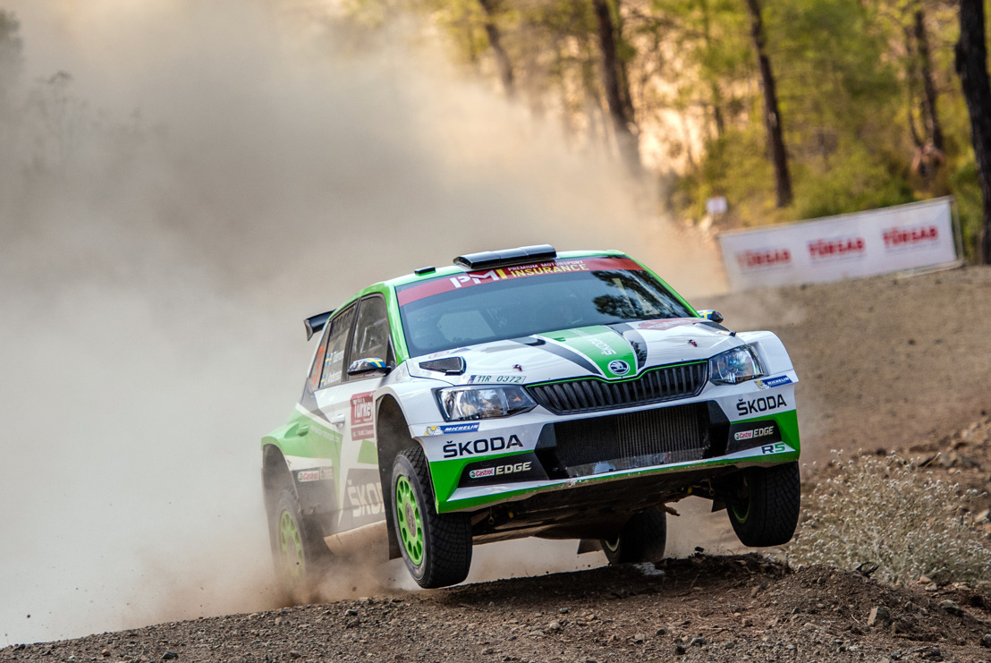 Wales Rally GB: Champion Tidemand competing for WRC 2 victory with ŠKODA junior Rovanperä