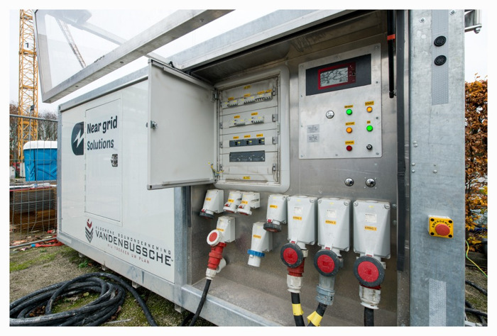 Near grid Solutions développe une batterie de chantier verte et intelligente avec la technologie Siemens