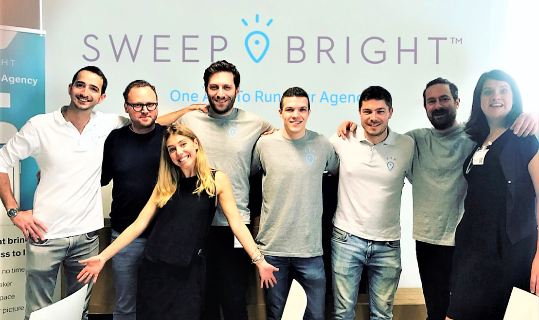 Belgian SweepBright attracts 2.3 million euros in fresh capital to conquer South American and Australian property markets