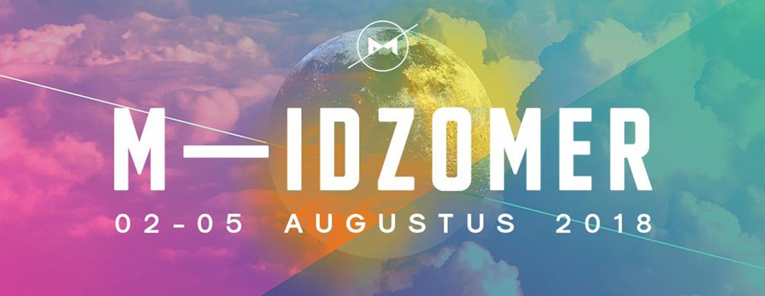 Nieuwe namen voor de affiche van M-IDZOMER 2018