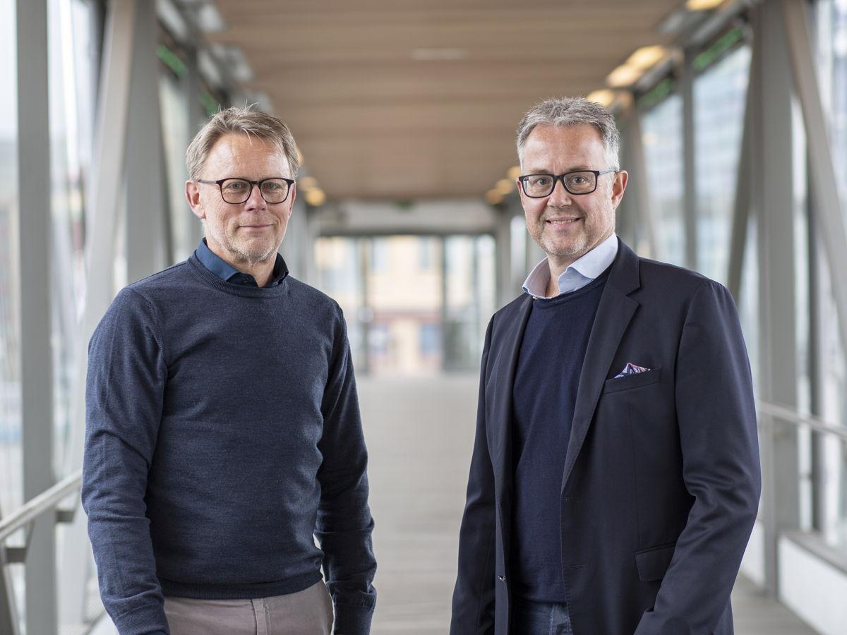 Tomas Fransson och Stefan Sonesson