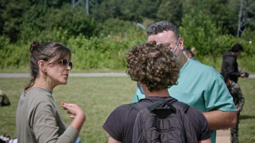 Topdokter Stéphanie De Maesschalck helpt maandelijks als vrijwilliger in vluchtelingenkamp in Duinkerke