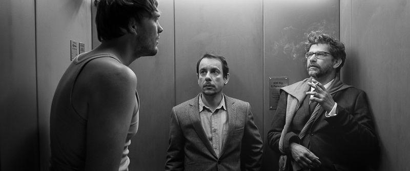 Clinch - aflevering 2 : De lift (Roy Aernouts, Nico Sturm, Wim Helsen) - (c) Panenka