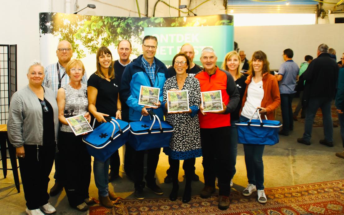 Toerisme Vlaams-Brabant bedankt haar peters en meters