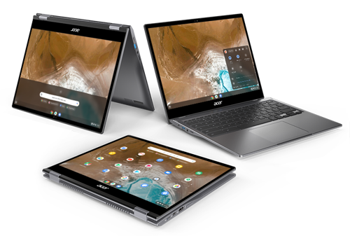 Acer Launches Premium Convertible 2K Chromebook Spin 713 that is Based On Project Athena