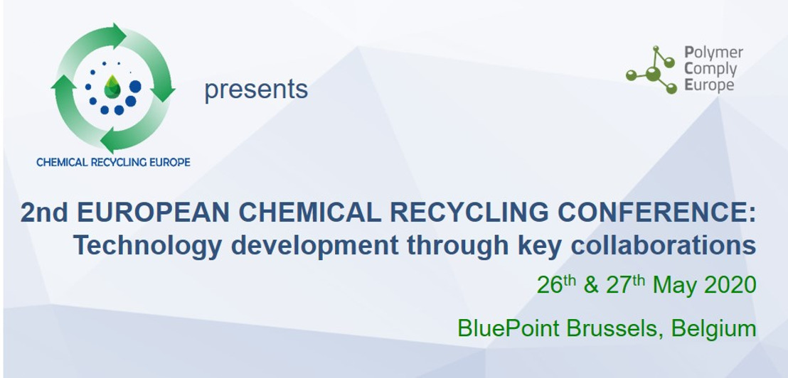 """2nd EUROPEAN CHEMICAL RECYCLING CONFERENCE - """"Technology development through key collaborations"""""""