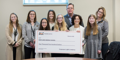 Local Students Spend Day at DLC after Winning 'Powering Pittsburgh' Competition
