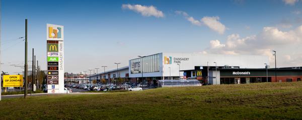 Dansaert Retail Park Wilrijk - Group Hugo Ceusters-SCMS