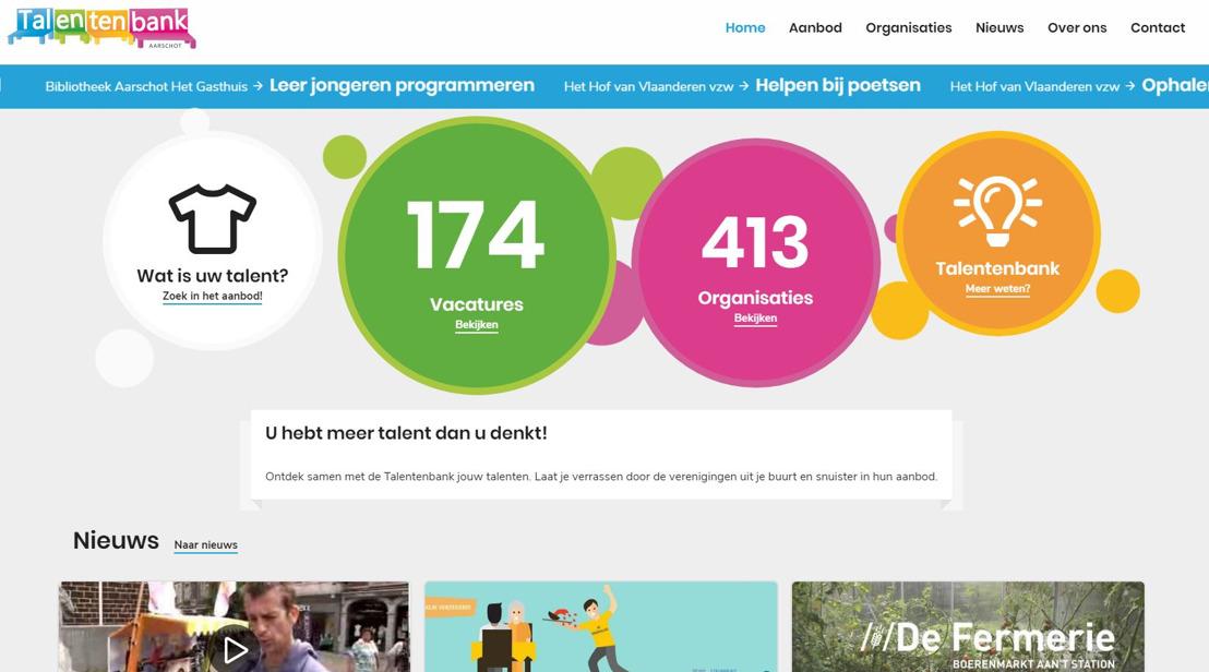 Lancering Talentenbank 2.0