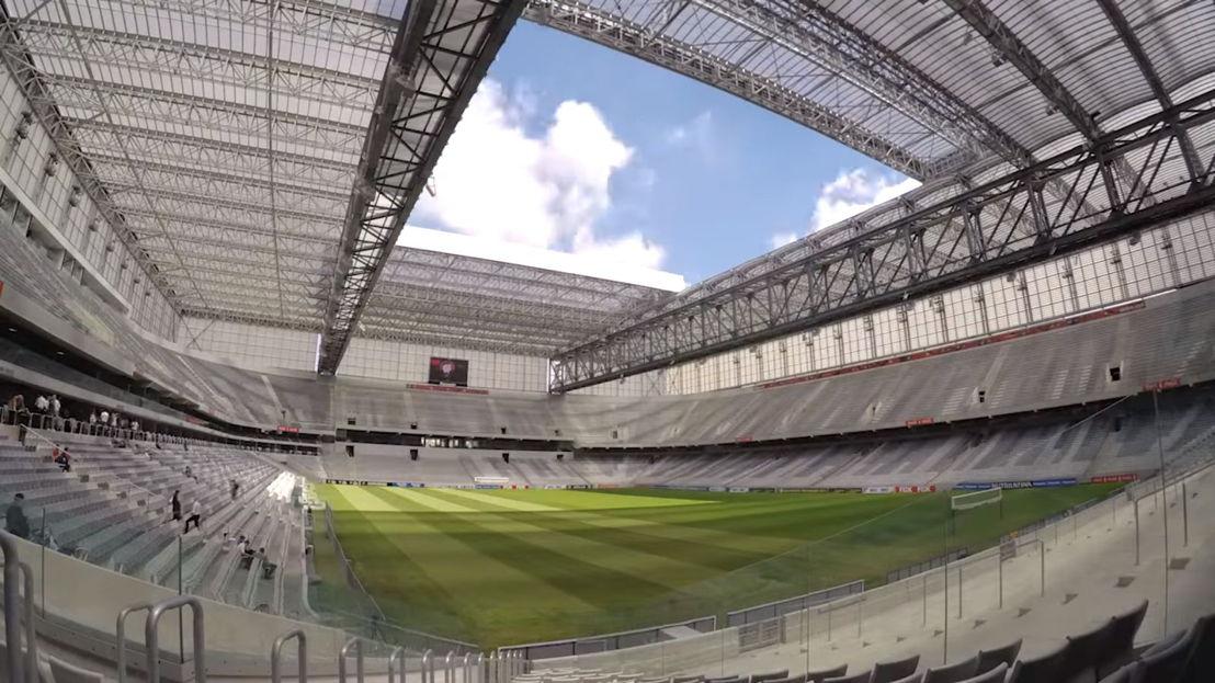 Pantallas LED y Digital Media Center en Arena Baixada en Brasil
