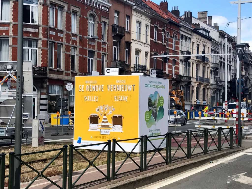 Affichage Boulevard Général Jacques