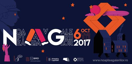 Vineri, 6 octombrie 2017, Noaptea Albă a Galeriilor continuă extinderea hărții artei contemporane pe plan artistic local și internațional.