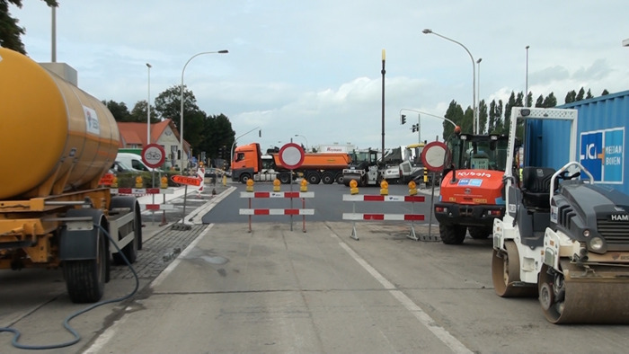 Nieuwe fase rioleringswerken Boomsesteenweg