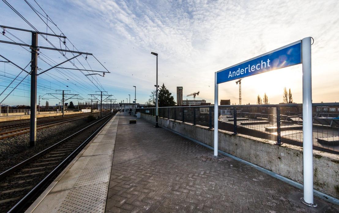Ouverture de la gare d'Anderlecht, la 35ème gare dans la Région de Bruxelles-Capitale
