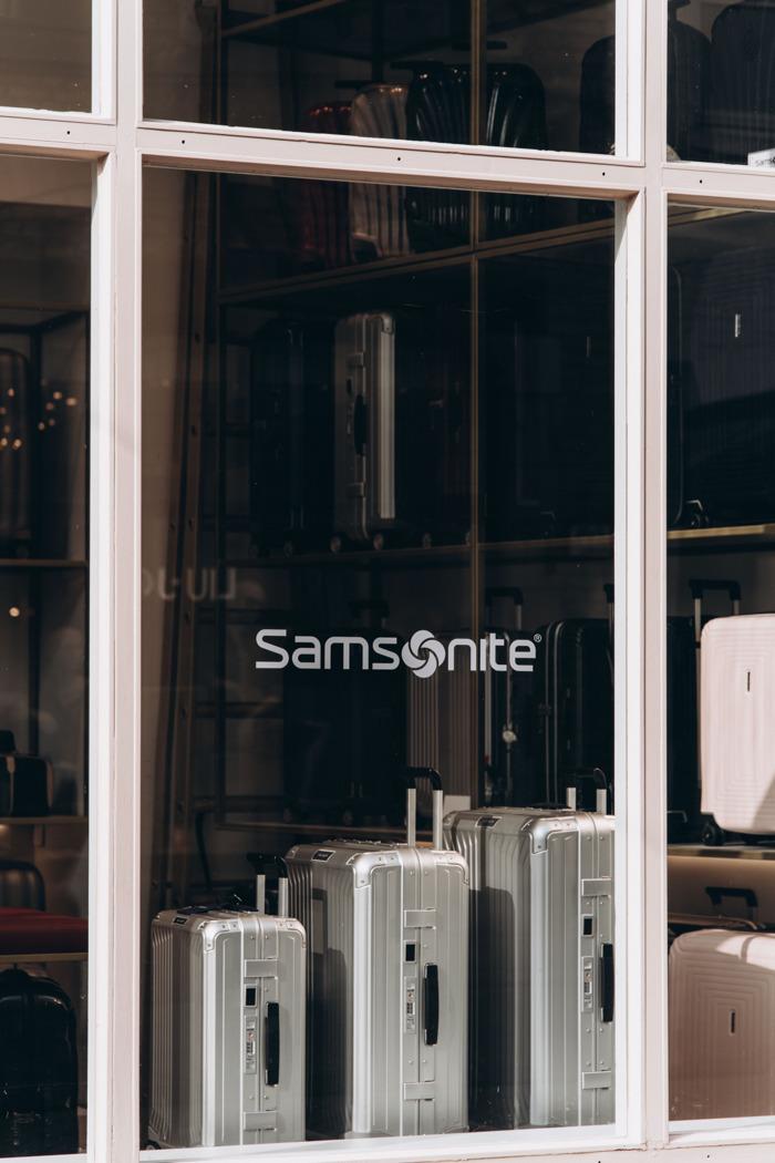 Samsonite meert aan in Brugge!