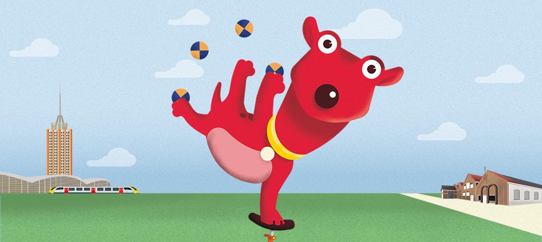 De circustoeren van Rode Hond