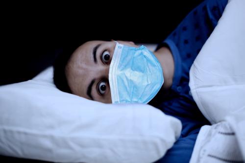 VUB studies impact of second lockdown on sleep
