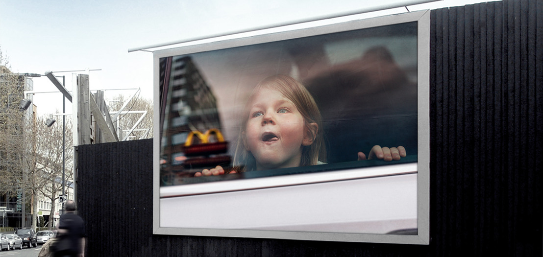 The M Effect: McDonald's® tribute to children in search of hope.