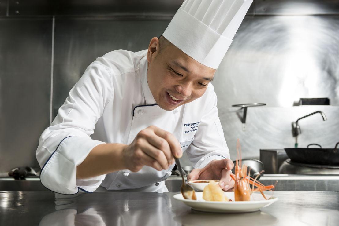 The Peninsula Bangkok: Chef Ball Yau