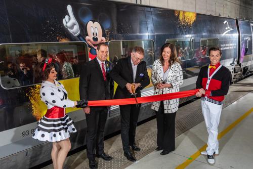 Preview: Thalys entre en gare de Marne-la-Vallée (Disneyland® Paris) et de Roissy-Charles de Gaulle