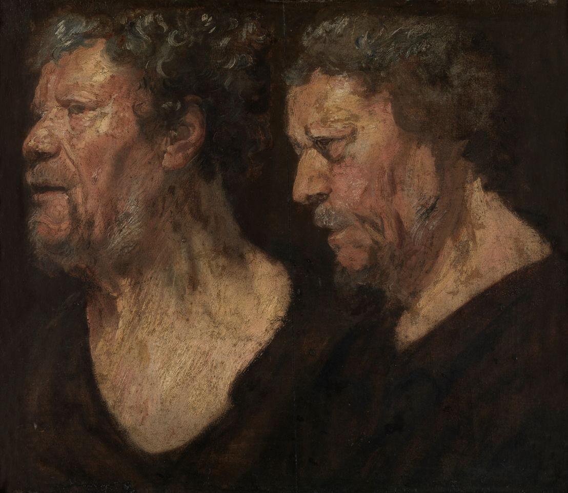 Jacob Jordaens, Studies van de kop van Abraham Grapheus, 1620, Museum voor Schone Kunsten, Gent