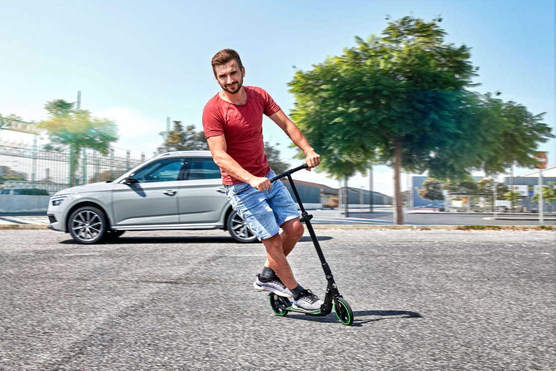 ŠKODA Scooter offers sustainable mobility for the last mile