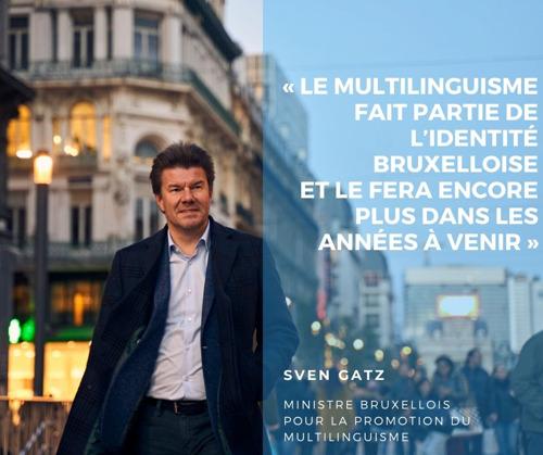 """""""Chaque Bruxellois multilingue à 18 ans"""""""