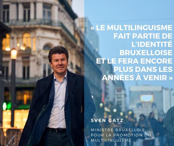 """Preview: """"Chaque Bruxellois multilingue à 18 ans"""""""