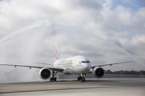 Emirates Touches Down in Fort Lauderdale, South Florida