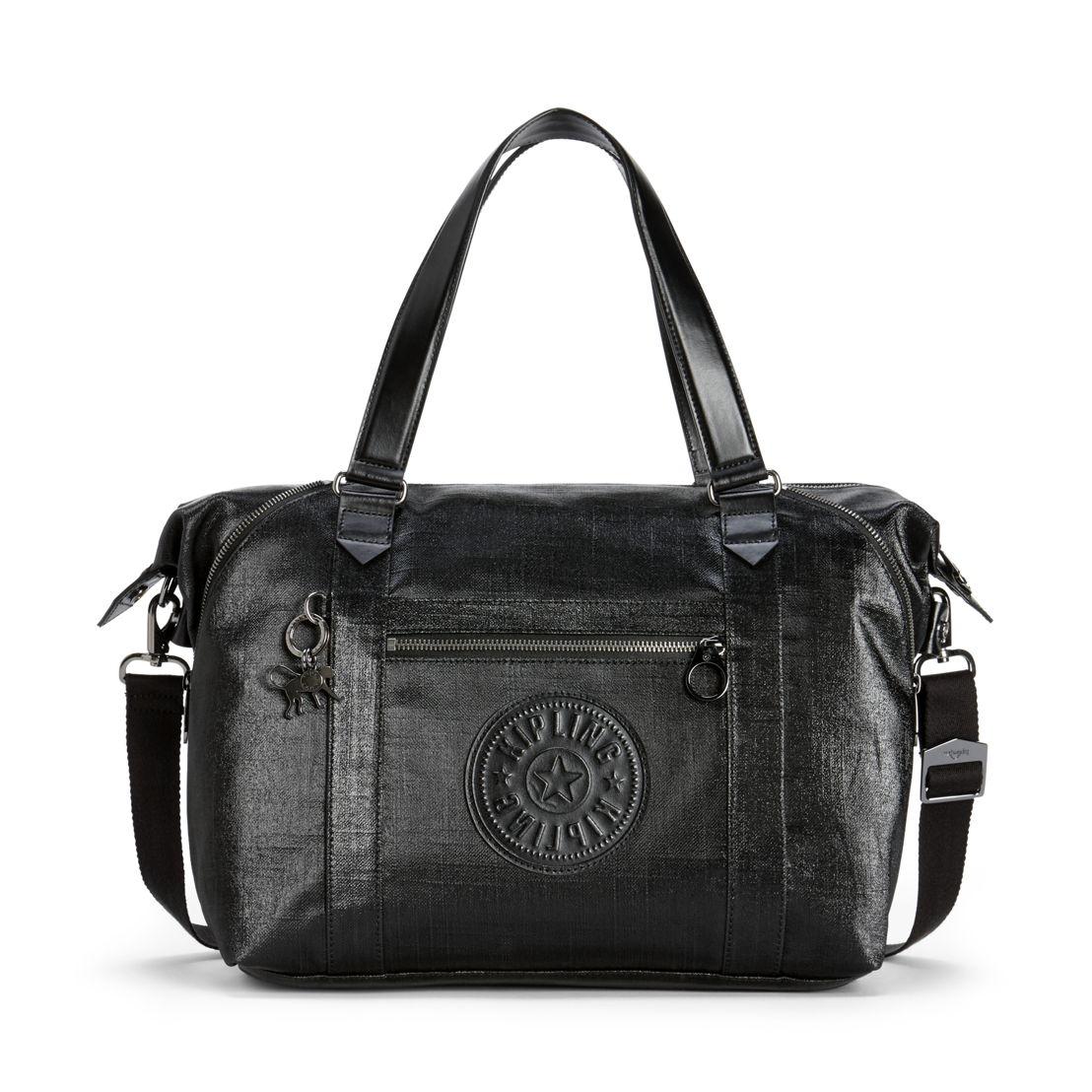 ART ORGANISED Coated Black – Shopper Tote mit herausnehmbaren Taschen  - 219.99€