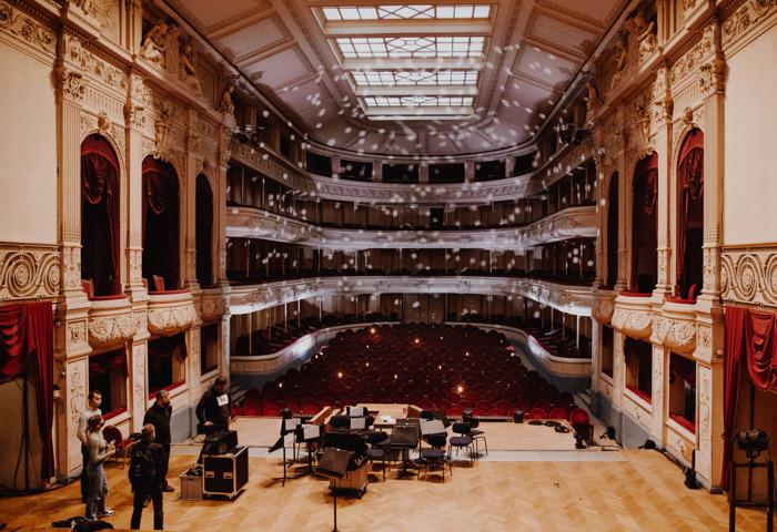 Kunststudenten Erasmushogeschool Brussel werken samen aan online Nieuwjaarsconcert