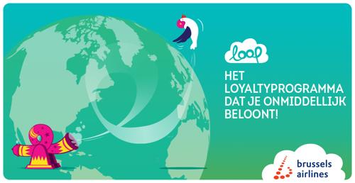 Brussels Airlines breidt getrouwheidsprogramma LOOP uit