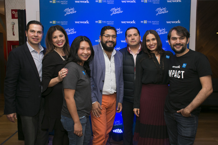 WeWork y Be The Match® México unidos para salvar vidas