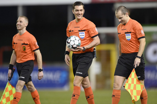 Patrick to remain the equipment supplier for Belgian referees