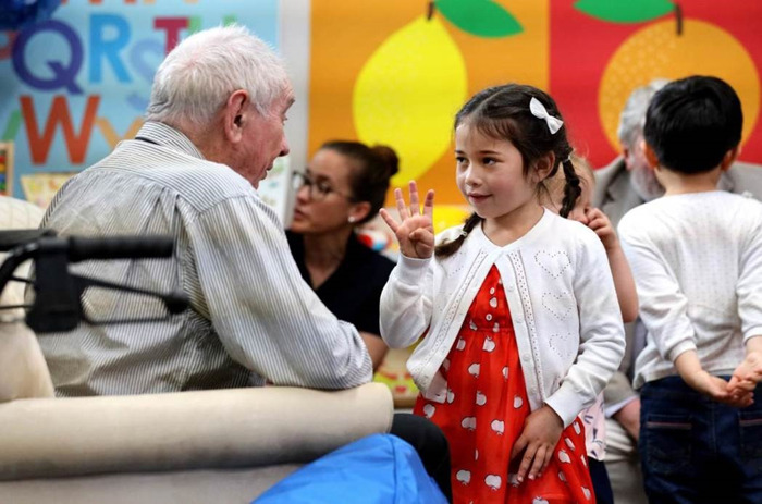Cameras Roll On The Most Heart-warming Show of 2019 – 'Old People's Home for 4 Year Olds' In Production