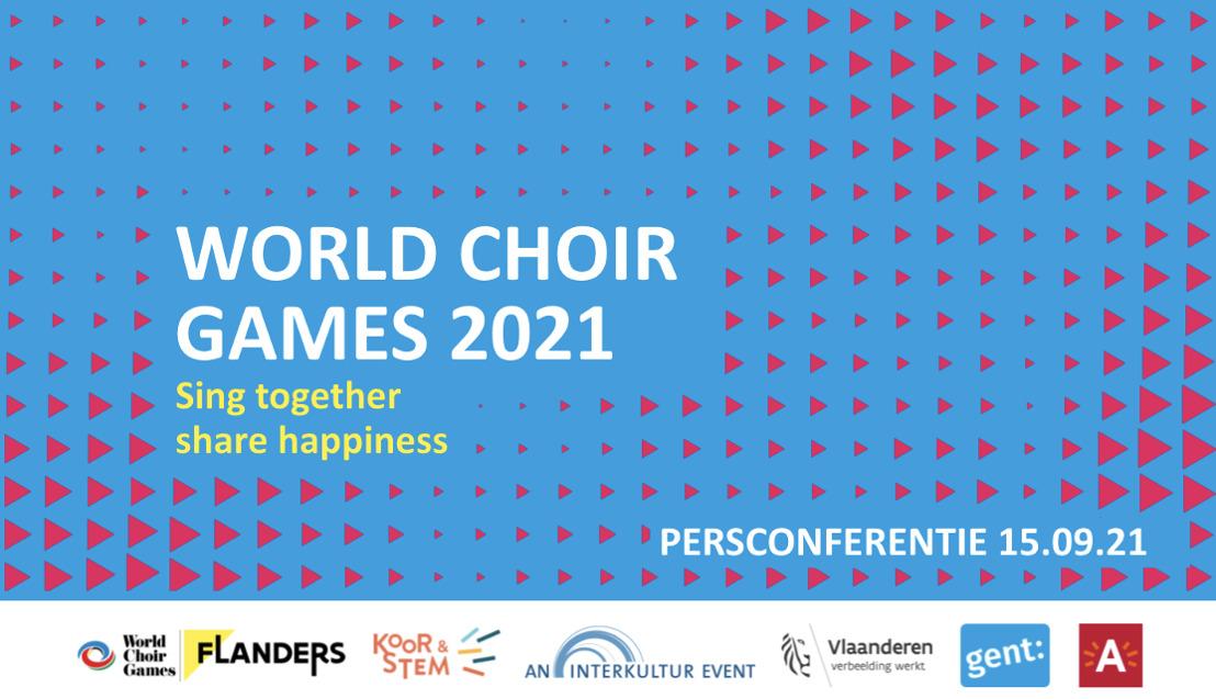 De World Choir Games geven aftrap in Vlaanderen