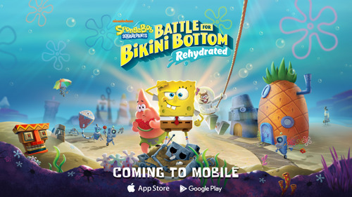 SpongeBob SquarePants: Battle for Bikini Bottom- Rehydrated to Surface on Mobile Devices January 21