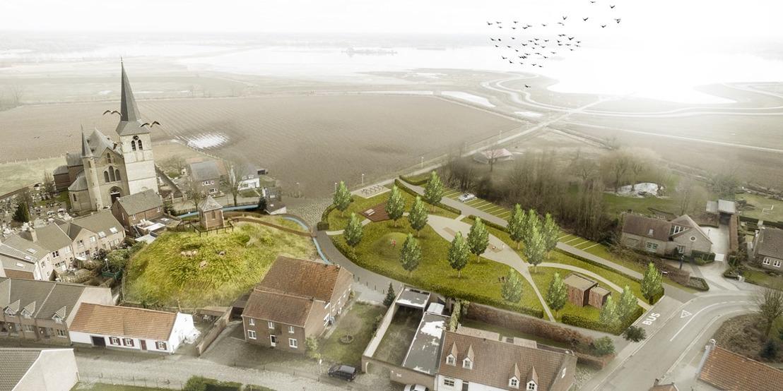 Vlaanderen trekt 1,3 miljoen euro uit om Maasdorpjes te vergroenen