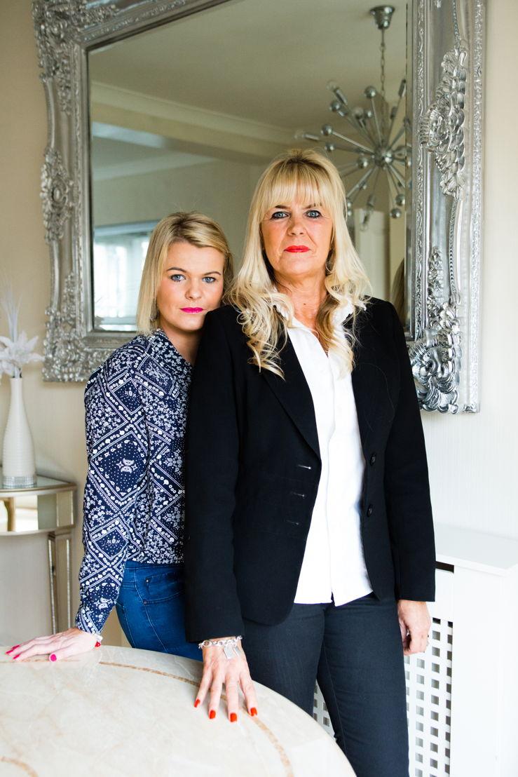 East Enders Amy and mum Debbie