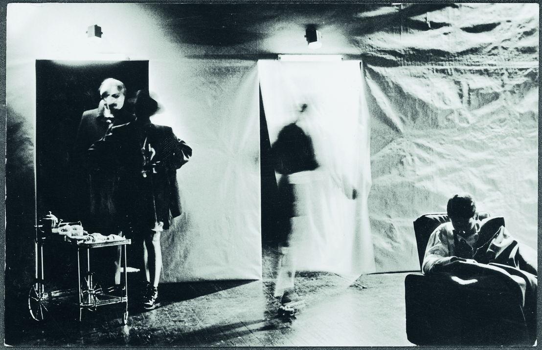 King Lear, regie Jan Decorte, Het Trojaanse Paard, Kaaitheaterfestival 1983. Foto Herman Sorgeloos