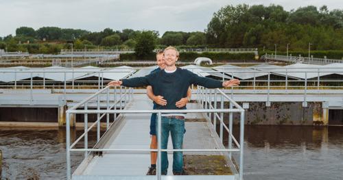 Aquafin en Bolt breiden samenwerking uit met levering van energie uit afvalwater