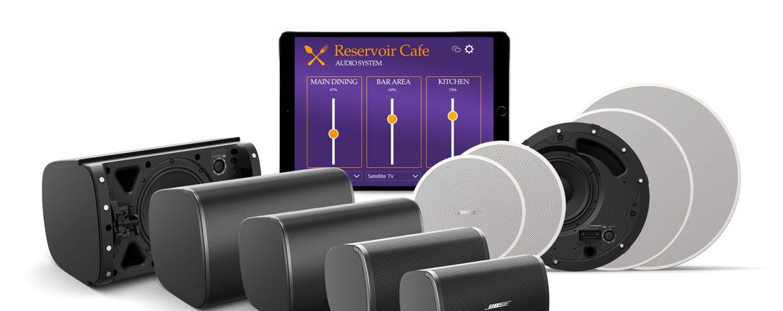 Bose Profesional presenta nuevos sistemas para musicalización en espacios comerciales