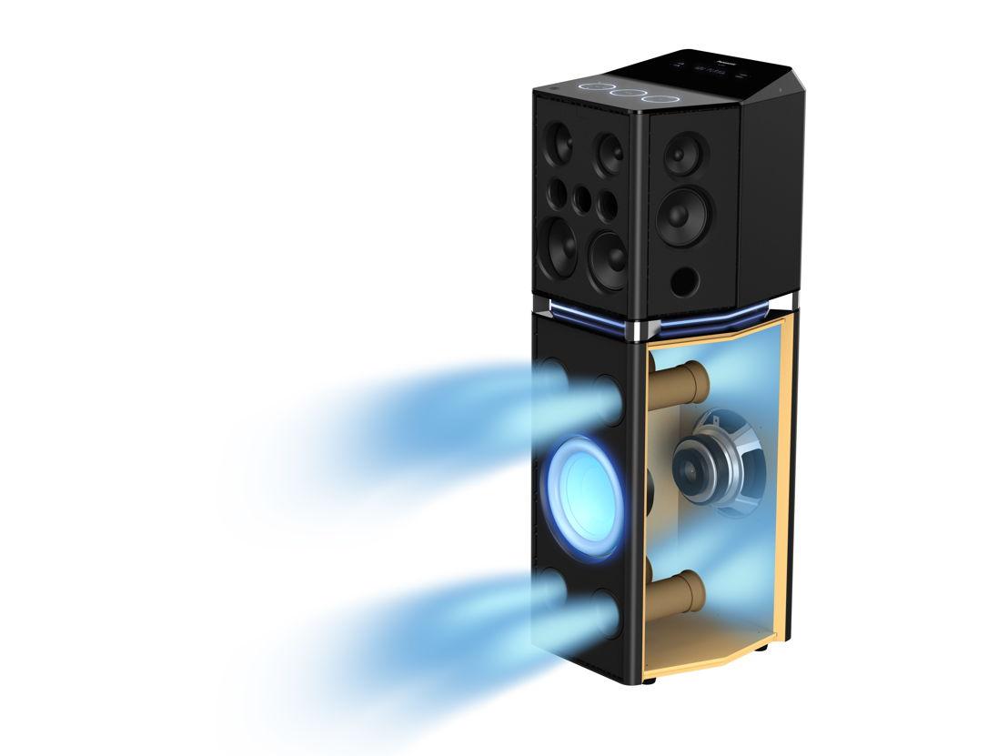 Panasonic Urban Audio SC-UA7 AirQuake Bass