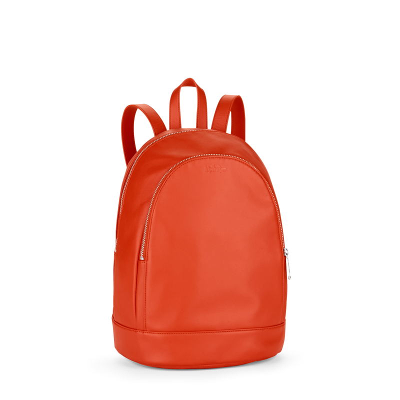 Yaretzi Lea Orange in Leather